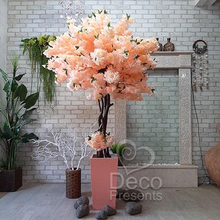 Декоративное белое дерево сакура, купить в Украине