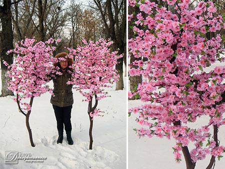 """Напольное дерево """"Сакура"""" 190 см"""