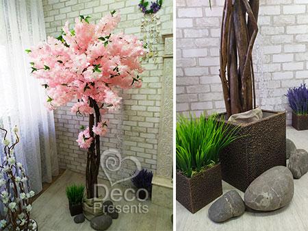 """Искусственное дерево """"Розовая сакура"""", купить Украина"""