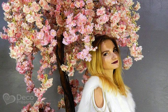 Декоративное дерево сакура для фото зоны, купить в Украине
