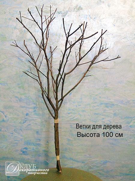 Купить ствол или ветки для свадебного дерева: Украина