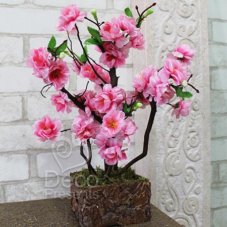 Купить искусственное дерево из цветов в Киеве