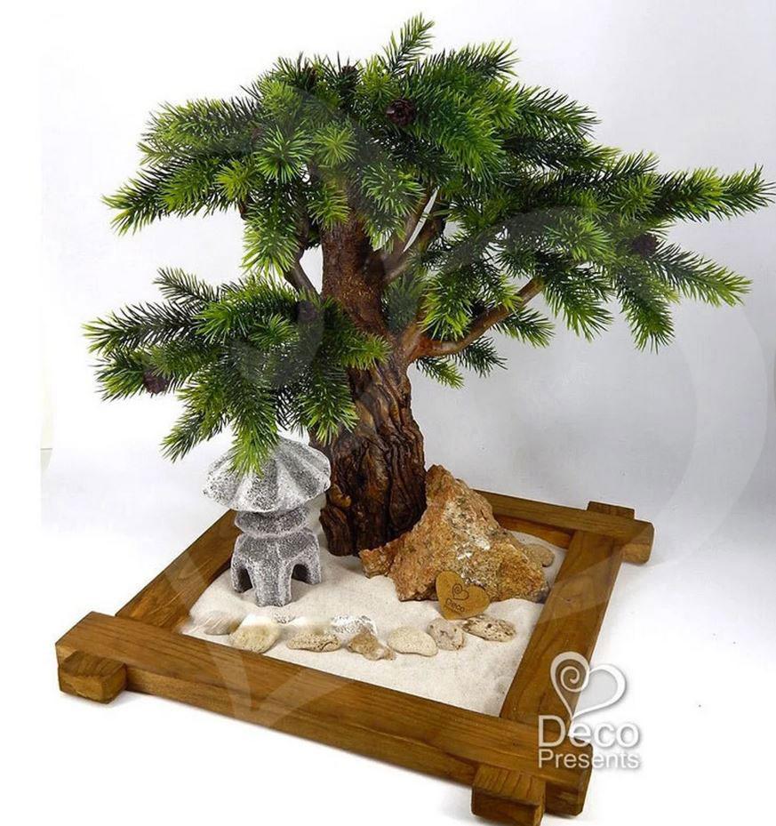 Как сделать банзай дерево своими руками из бисера