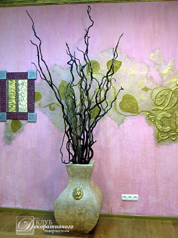 Искусственные цветы своими руками для вазы 92